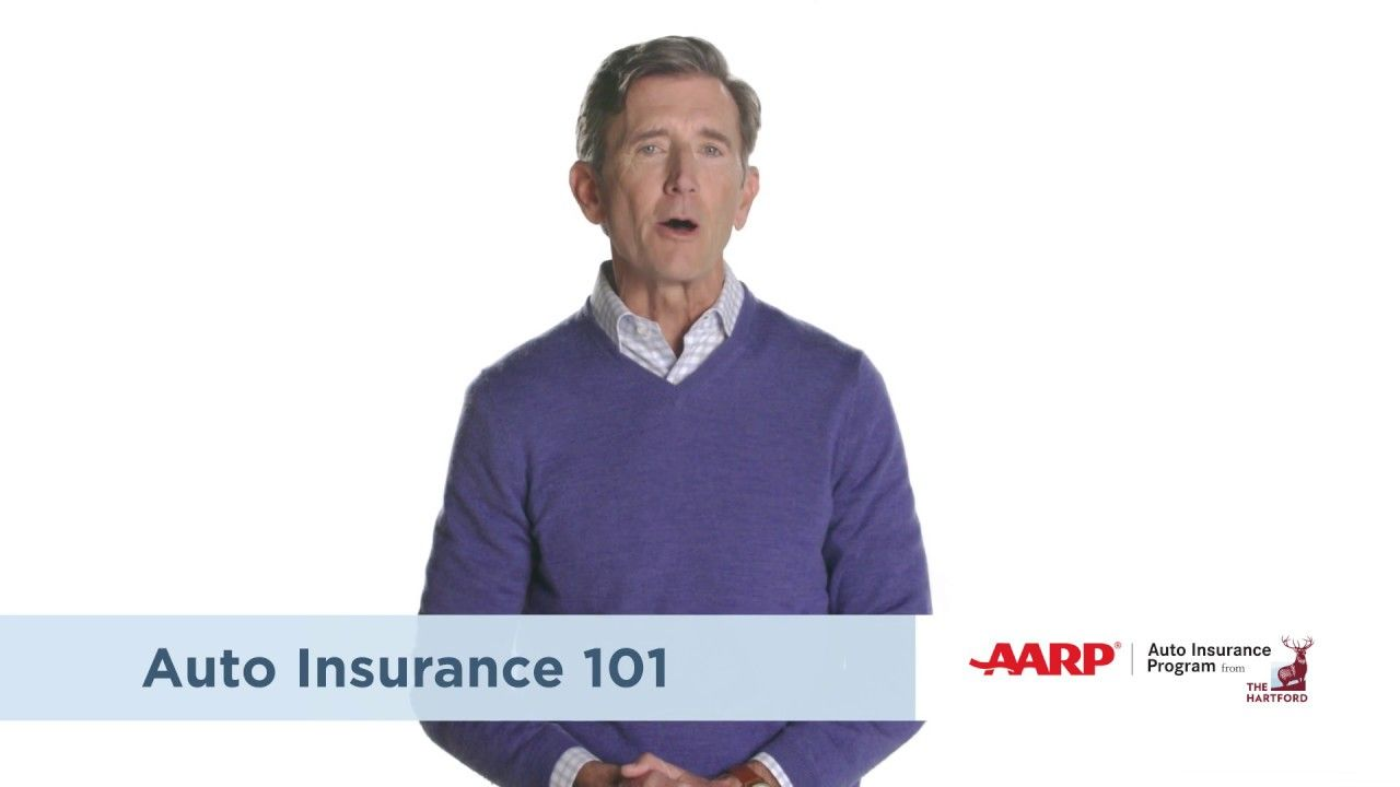 Aarp auto insurance from the hartford insurance