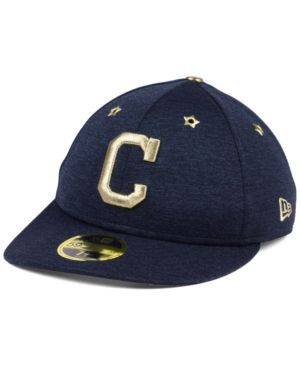 New Era Cleveland Indians 2017 All Star Game Patch Low Profile 59FIFTY Fitted Cap - Blue 7 3/8
