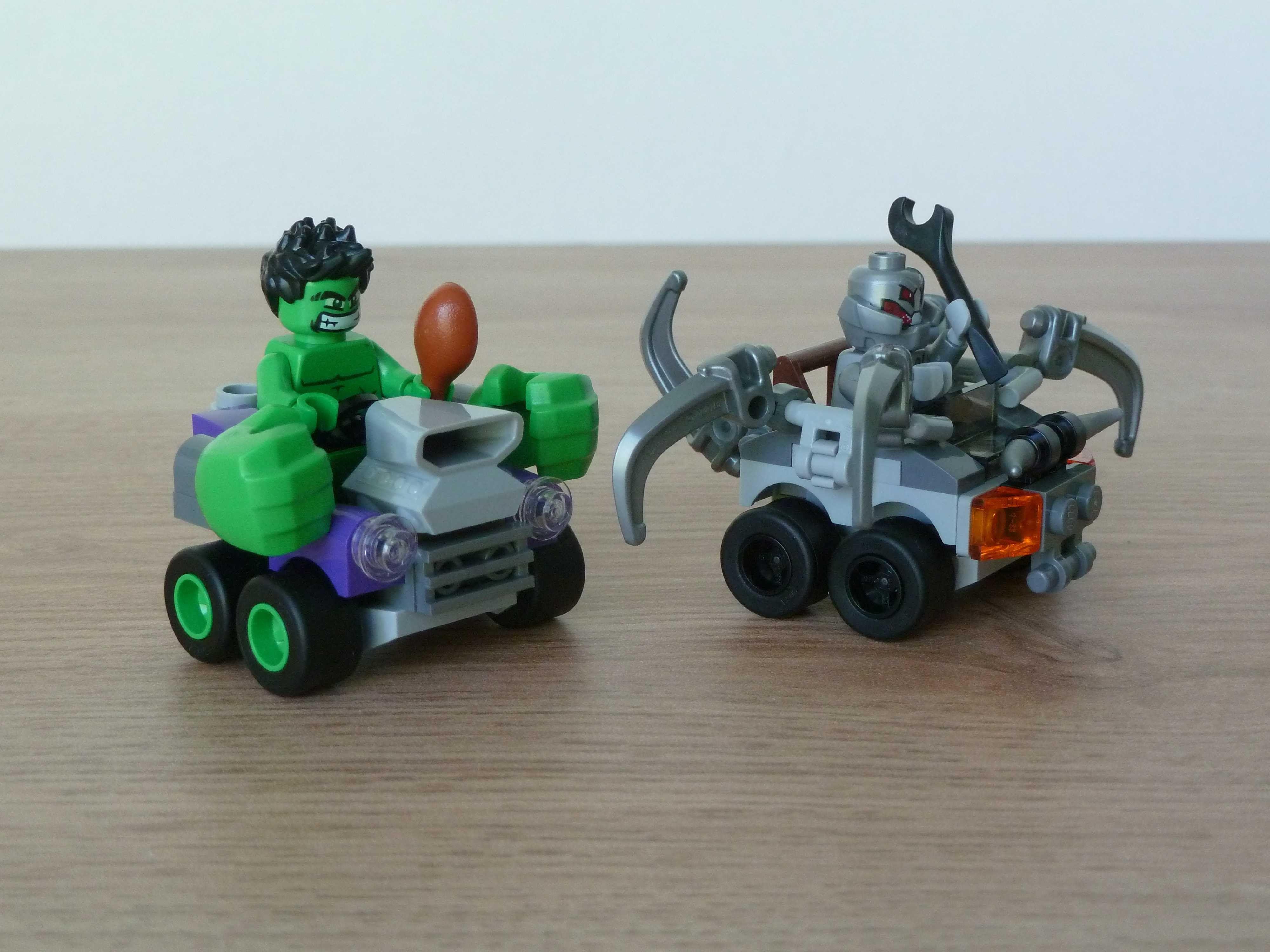 Lego Marvel Super Heroes 76066 Mighty Micros Hulk Vs Ultron 76064 Spider Man Green Goblin