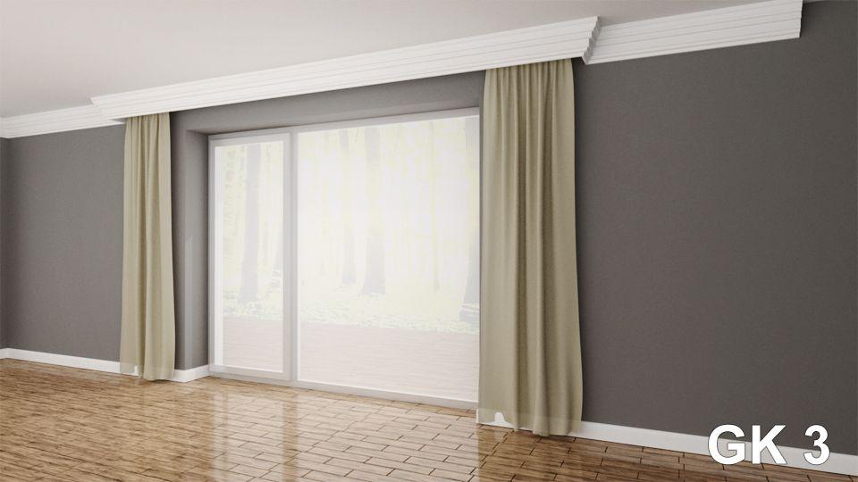 Xps Curtain Rod Rail Cover Coving Cornice Gk3 Curtain Rods
