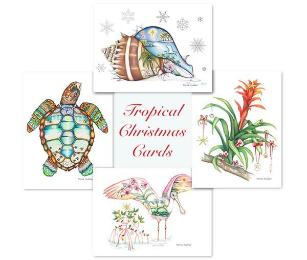 Tropical Christmas Cards (With Images