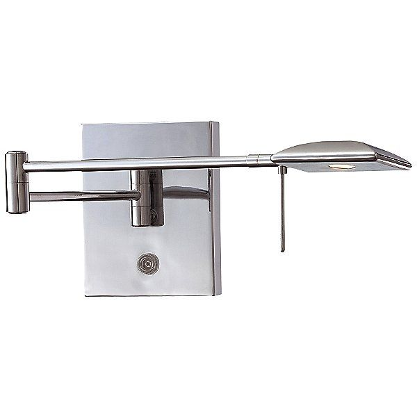 George Kovacs P4328 Swing Arm Wall Sconce P4328 631 In