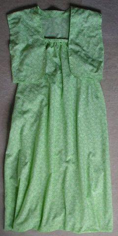 Easy sundress and bolero (waistcoat).