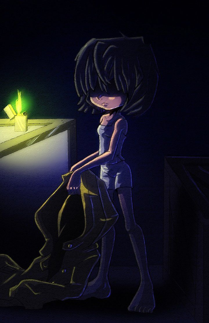 Under my coat by AngelofHapiness   Little Nightmares   Little