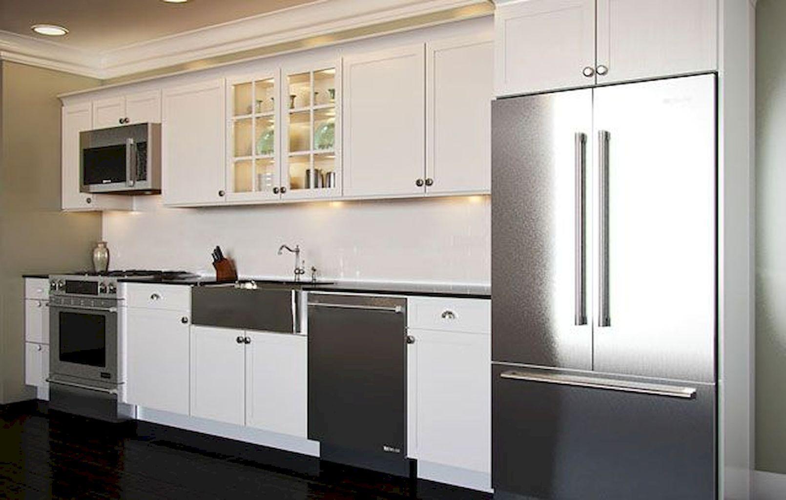 adorable best straight line kitchen designs https