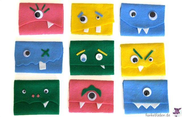 Schnell Gebastelt U2013 Monstermäßige Einladungskarten U203a Anleitungen, Do It  Yourself U203a Basteln, Einladungskarten, Kindergeburtstag, Monster, Selber  Machen