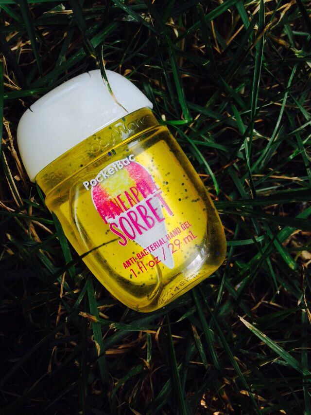 Pineapple Sorbet Pocketbac Bath Body Works Bath Body Hand