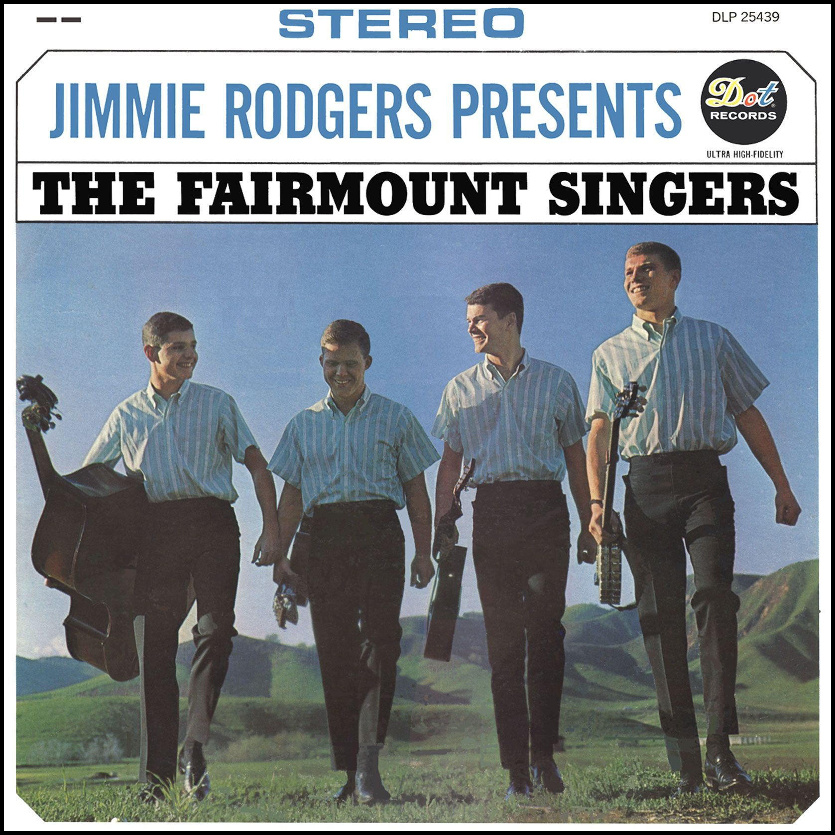 Jimmie Rodgers Presents The Fairmount Singers Dot