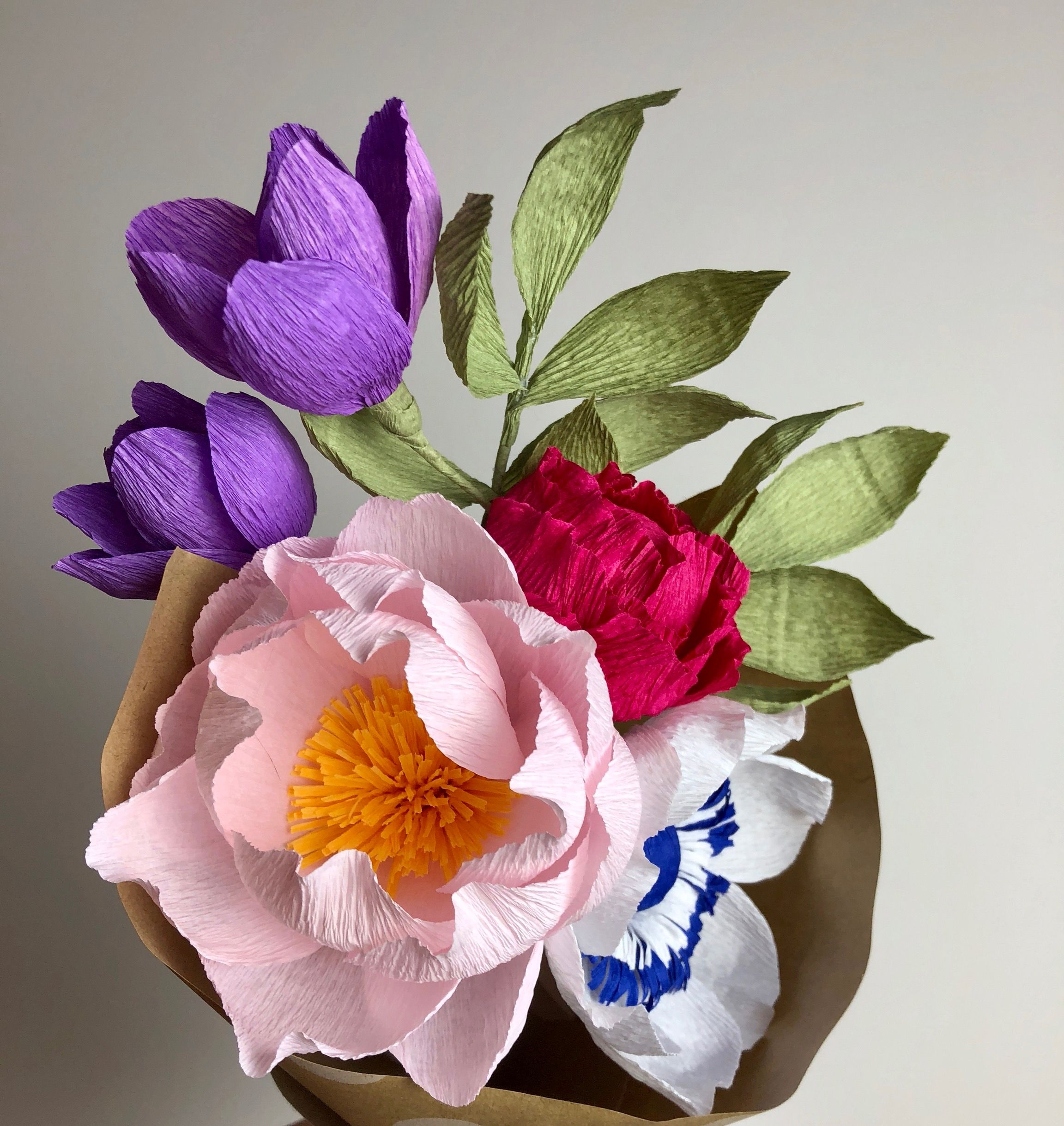 Paper Flower Bouquet By Little Paper Flowers Nyc Www