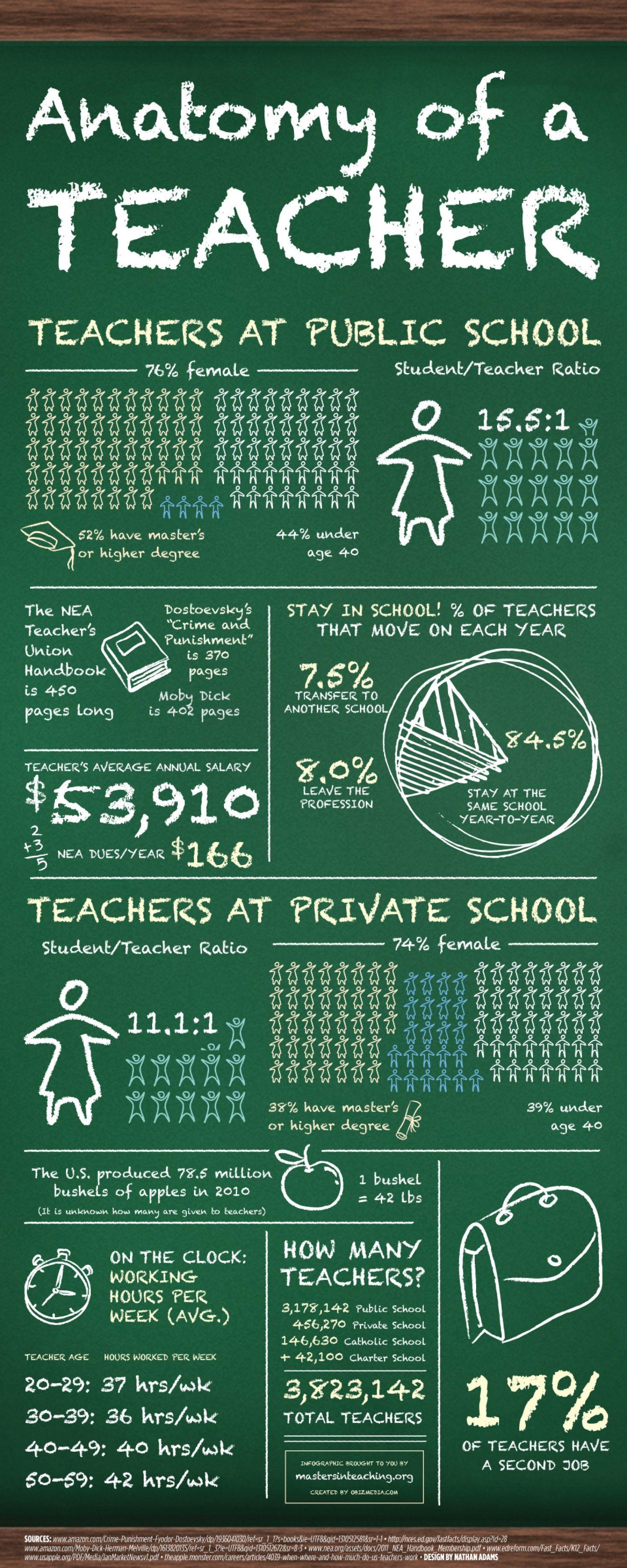 GoTeacher Issue 6: Anatomy of a Teacher: salary, class size, and ...