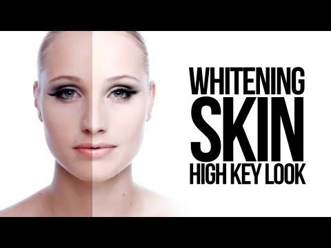 "▶ Whitening skin in photoshop "" High Key look "" - YouTube"