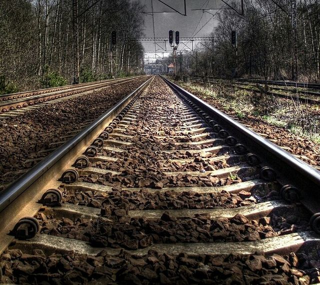 Rail Tracks Stunning Photography Train Tracks Railroad Tracks Scenic Railroads Hd train background for editing