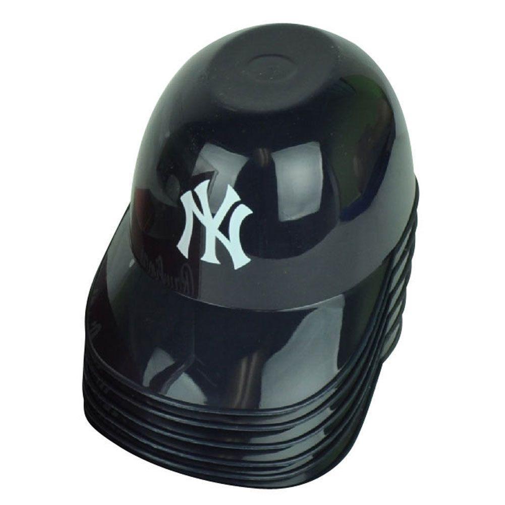 11 95 Mlb York Yankees Baseball Snack Helmet Collectible Bowl Cup Rawlimgs Party Ebay Collectib New York Yankees Baseball Yankees Baseball Baseball Snacks