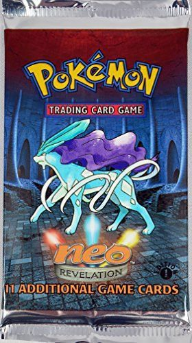 Pokemon 1st Edition Neo Revelation American Trading Card Game Booster Pack