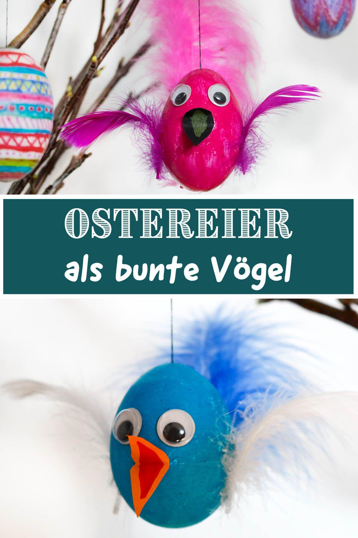 Photo of DIY – Lag fargerike fugler av påskeegg