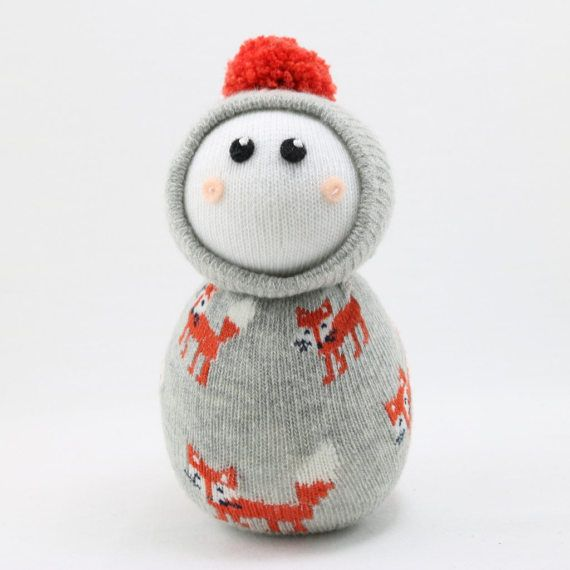 Snuggle Buddy Sock Doll Pattern by Sewinthemoment Beginner | Costura ...