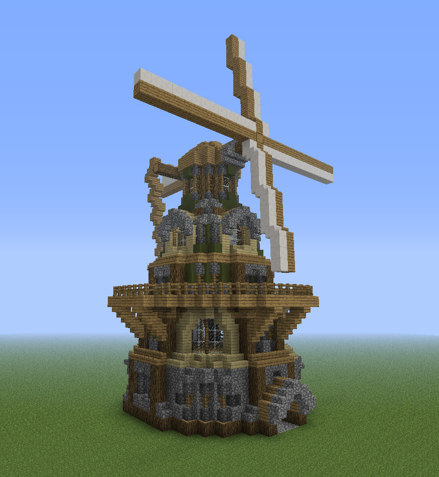 A Tutorial For A Very Specific Windmill  - Screenshots - Show Your Creation