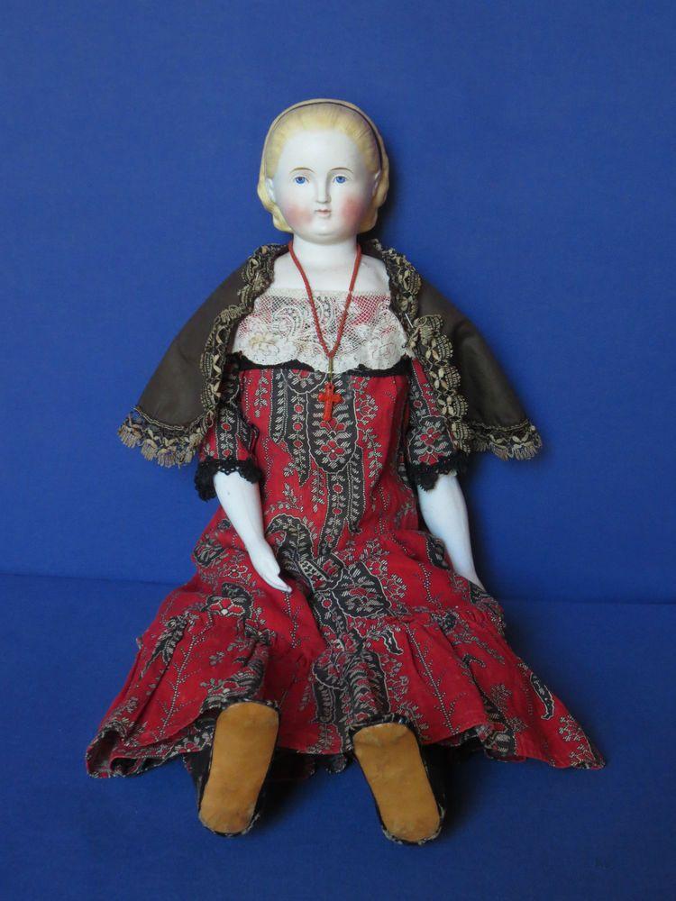Orig. Alice um 1860 Alt, Beck & Gottschalk/Parian-Schulterkopfdame…