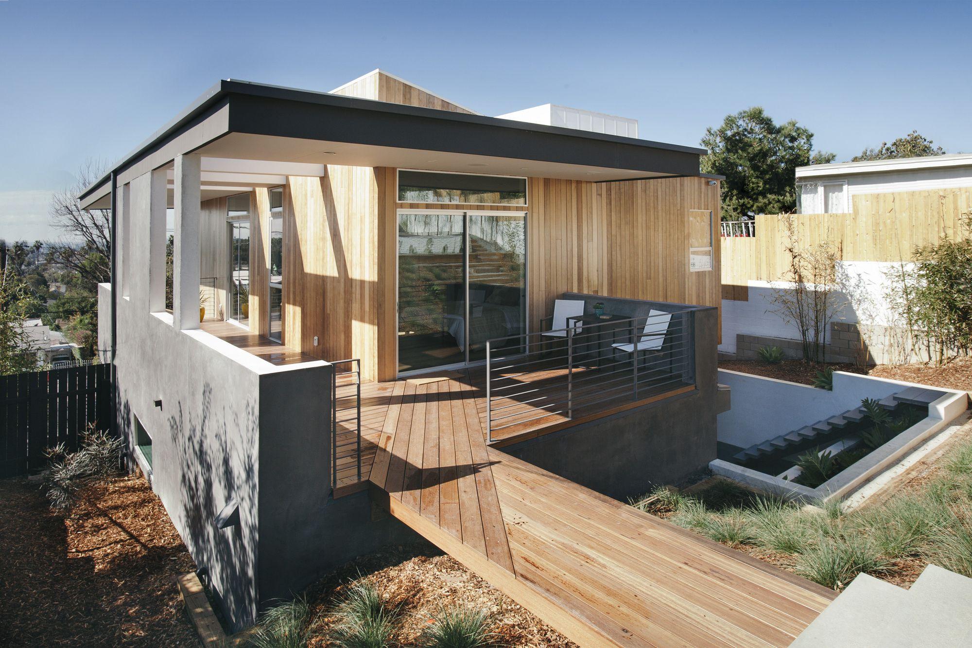 3 Step House Chacol House Built Into Hillside House Built Prefab