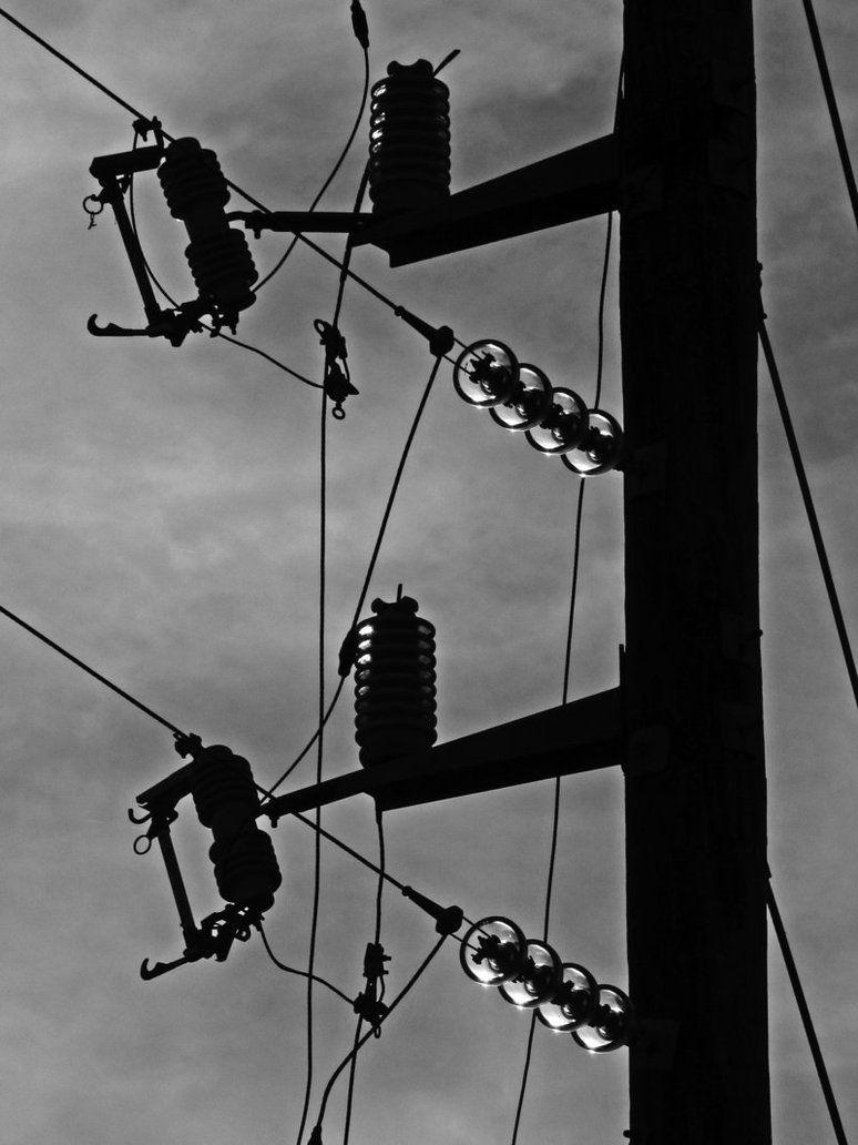 Powerlines by sharrashina on DeviantArt   telegraph pole   Pinterest ...