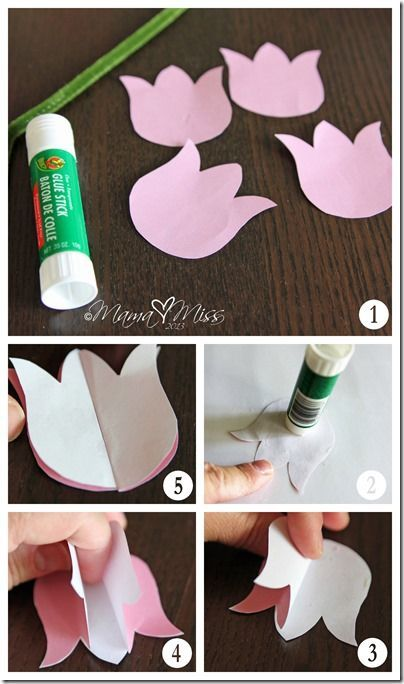 Photo of create kiddo: DIY Tulips Upcycled Vase and Printable – Mama Miss