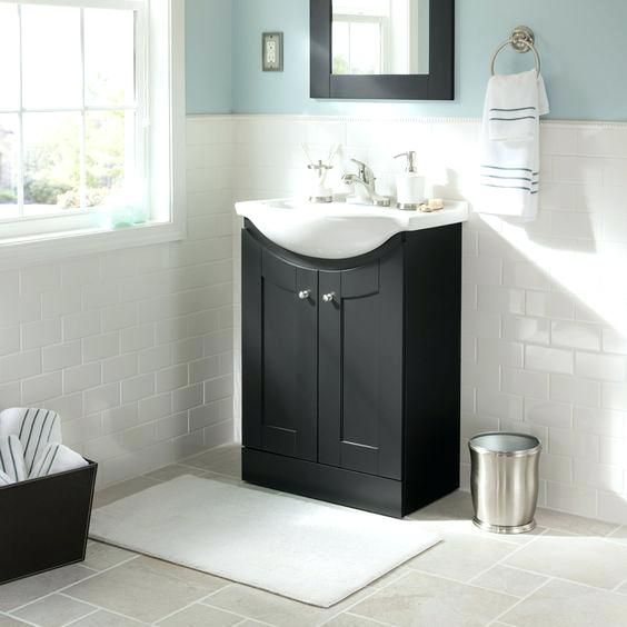 Euro Vanity And Sink Pterest Style Overhang