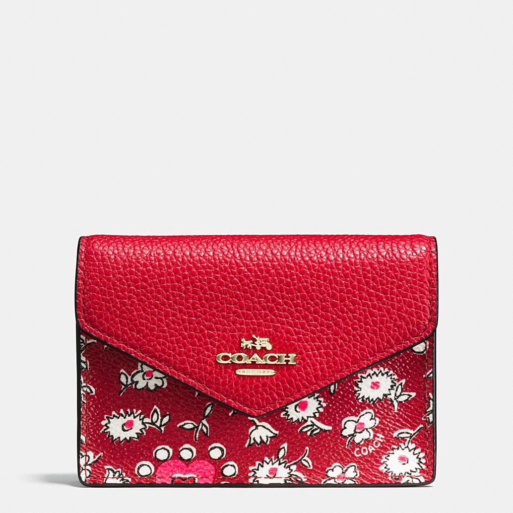 Shop The COACH Envelope Card Case In Wild Hearts Print Coated Canvas. Enjoy Complimentary Shipping & Returns! Find Designer Bags, Wallets, Shoes & More At COACH.com!