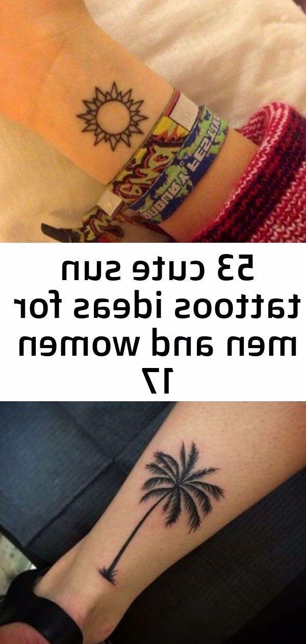 53 Cute Sun Tattoos Ideas For Men And Women 24 New Ideas For Palm Tree Tattoo Leg Men Blackwork solar system tattoo by kkhxcx Tumblr in Tattoo