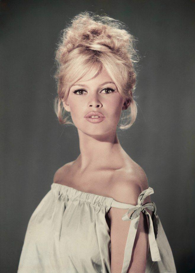 Retour sur les plus belles coiffures de Brigitte Bardot #coiffure