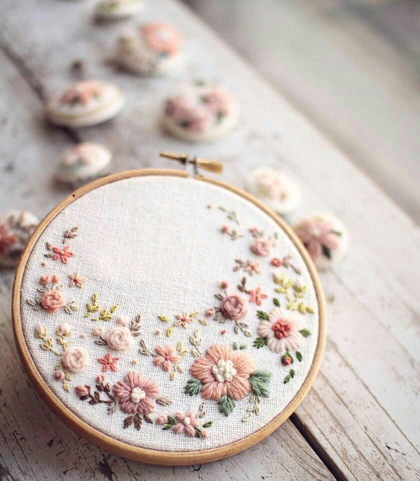 Kalpte çiçekler açtırmak, birine sevdiğini söylemekten bin kat daha güzeldir çiçeğim.. #silkribbonembroiderypatterns