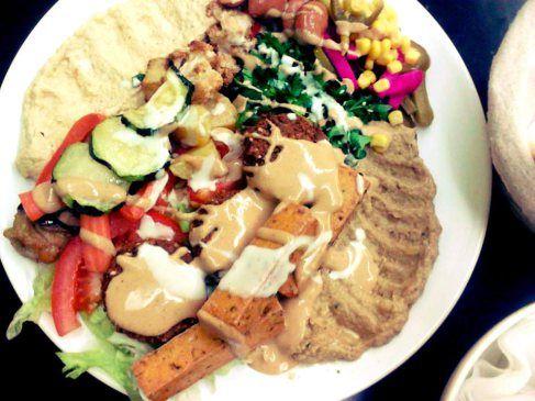 awesome vegan and vegetarian falafel place- kreuzberg