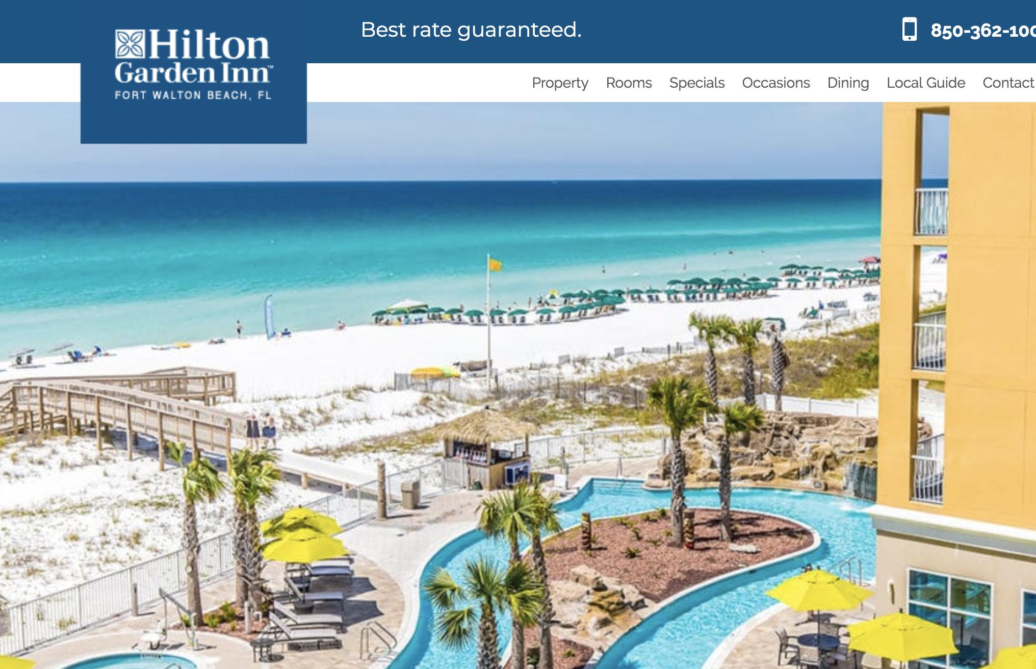 Hilton Garden Inn Ft Walton Beach Fl Fort Walton Beach Hotels Fort Walton Beach Travel Destinations Beach