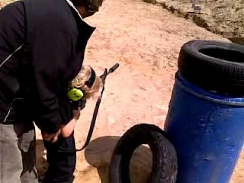 Danny shooting AR 15 with silencer - http://fotar15.com/danny-shooting-ar-15-with-silencer/