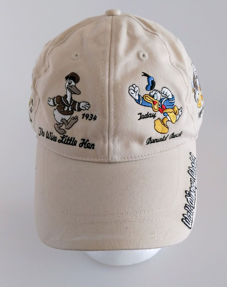 f972326724e Walt Disney World DONALD DUCK Through The Years Baseball Cap Hat Parks   donaldduck  baseballcap  disney  waltdisneyworld