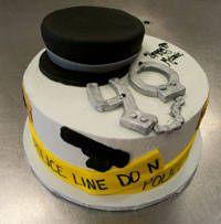 40th Birthday Police Theme