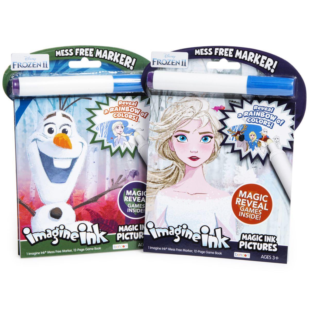 Disney Frozen 2 Imagine Ink Magic Ink Pictures Coloring Book Coloring Books Disney Frozen 2 Disney Frozen