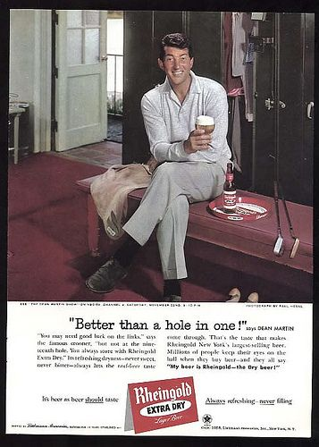 BEER AD WITH DEAN MARTIN