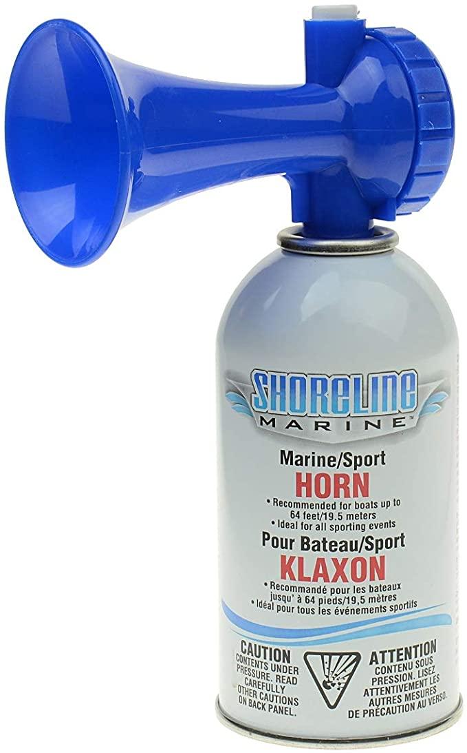 Amazon Com Shoreline Marine Eco Air Horn 8 Oz Sports Outdoors Horns Marine Air