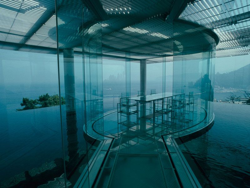 Water Glass 水 ガラス 隈研吾 建築 建築家