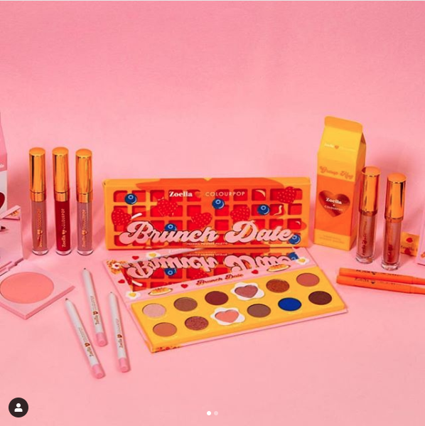 Colourpop Breakfast Collection NEW Collaboration with