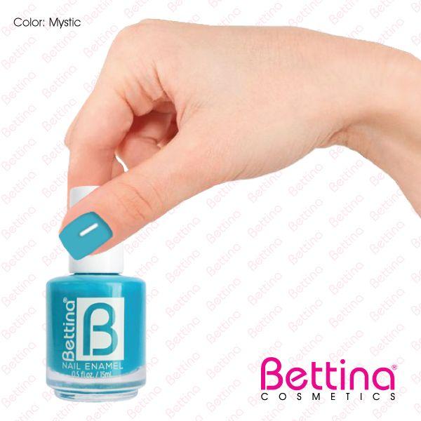 """Colores alegres y divertidos, todos los tiene #Bettina.¿Qué te parece el Bettina #NailEnamel en color """"Mystic""""? #NailPolish #Nails"""