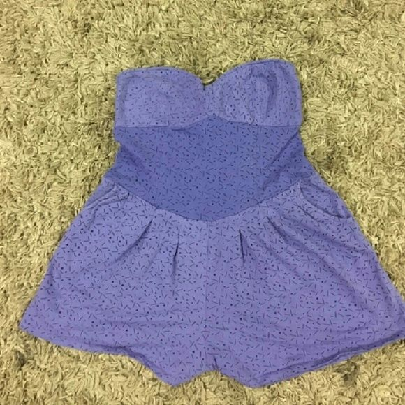 Purple oneil romper Never worn like new O'Neill Pants Jumpsuits & Rompers