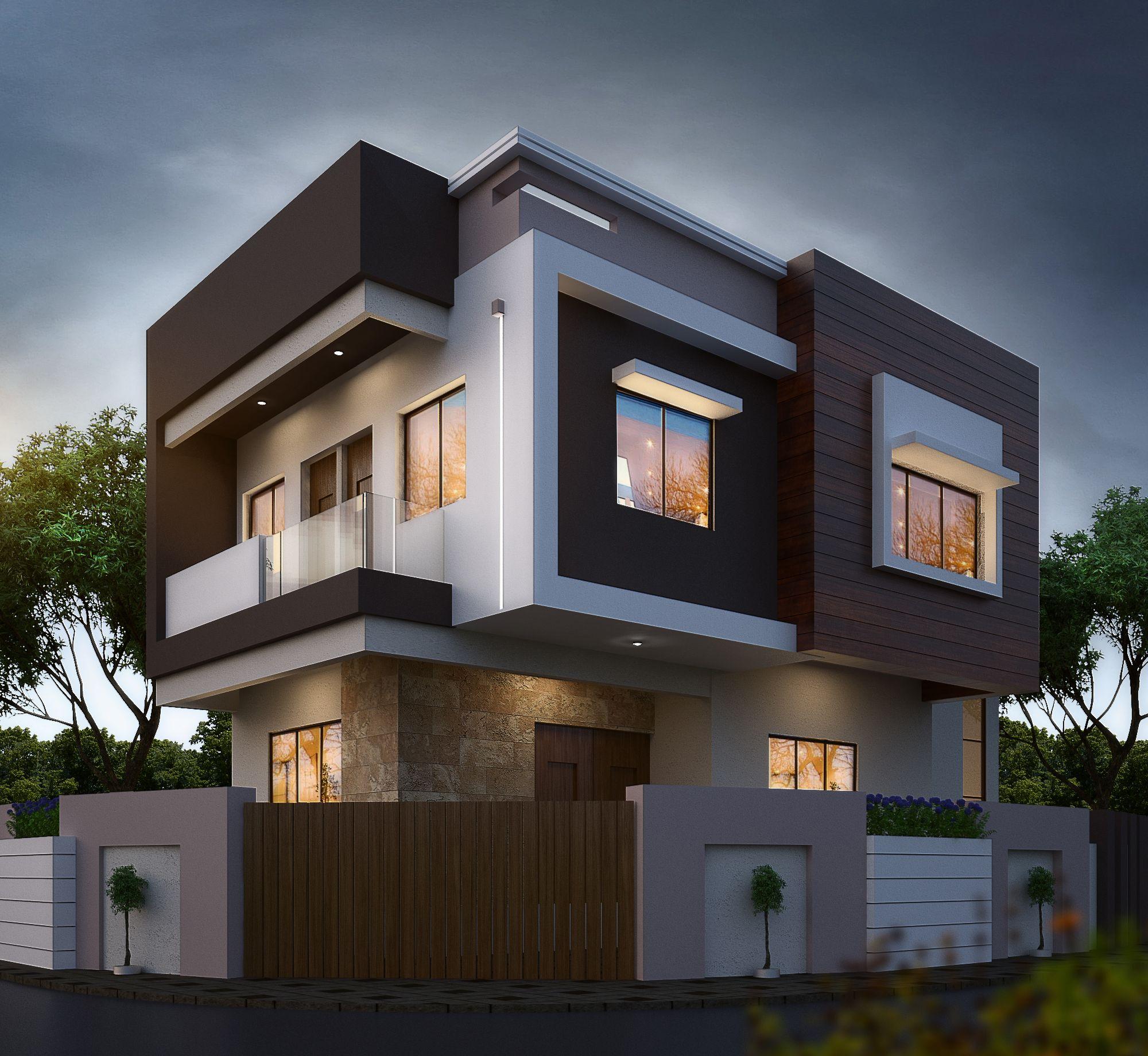 Modern Residential House Bungalow Exterior By Ar Sagar