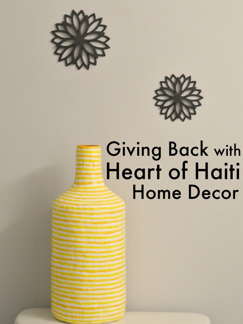 Giving back heart of haiti home decor haiti home decor