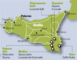 Sisilian Kartta Google Haku With Images Kartta Sisilia