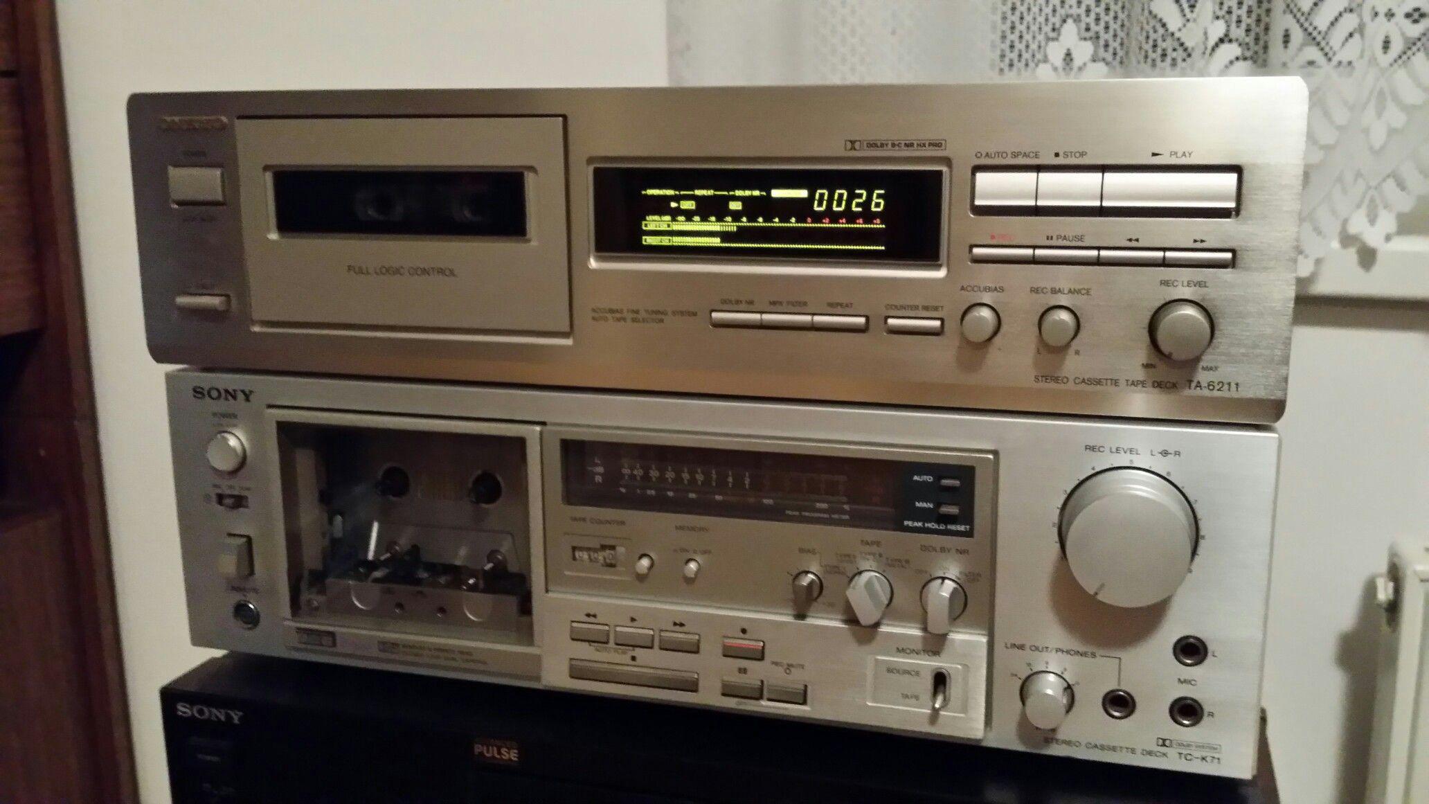 Onkyo & Sony Cassette Decks | КАССЕТНЫЕ МАГНИТОФОНЫ cassette