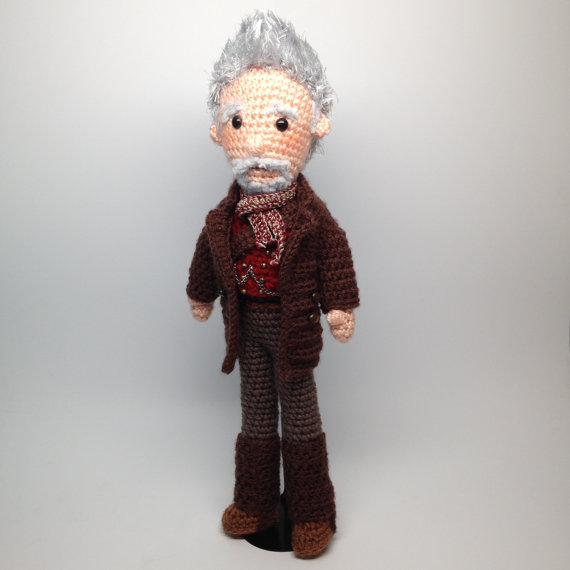 War Doctor Who Amigurumi doll Crochet Pattern | Personajes de la ...