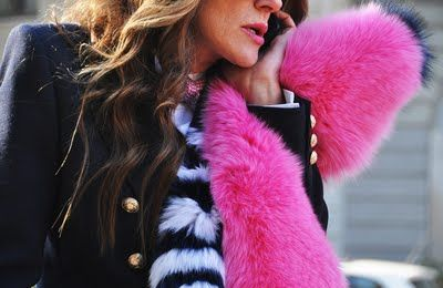 Pink and Navy go very well together.