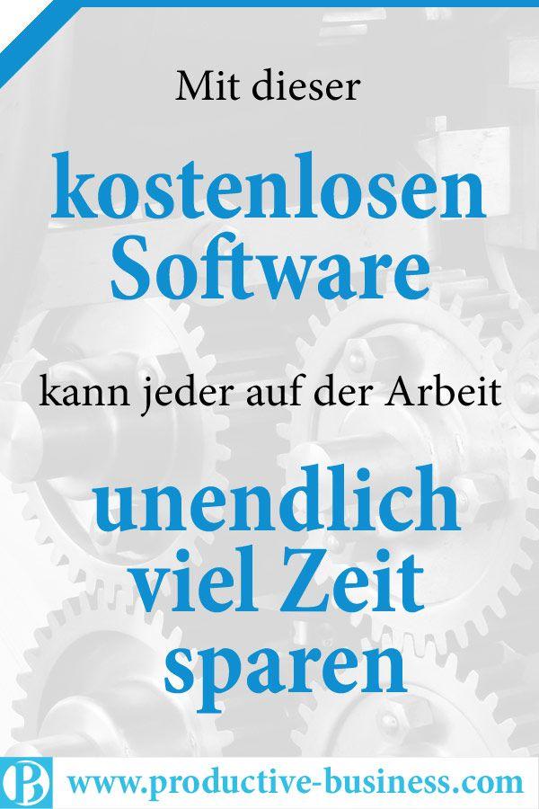 Kostenlose Software Zeit Sparen P Banner Software Vorlagen Buroorganisation Tipps