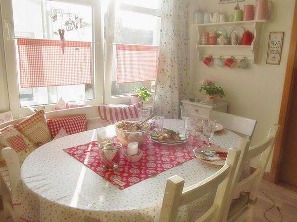 Veilchengarten samstag dining room pinterest - Gartenhaus maritim einrichten ...